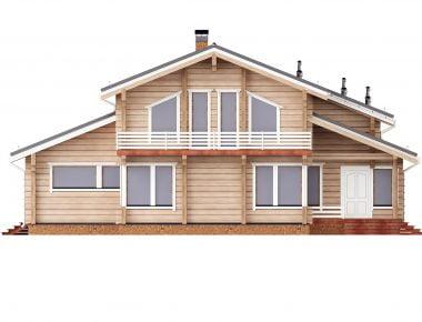 большие деревянные дома
