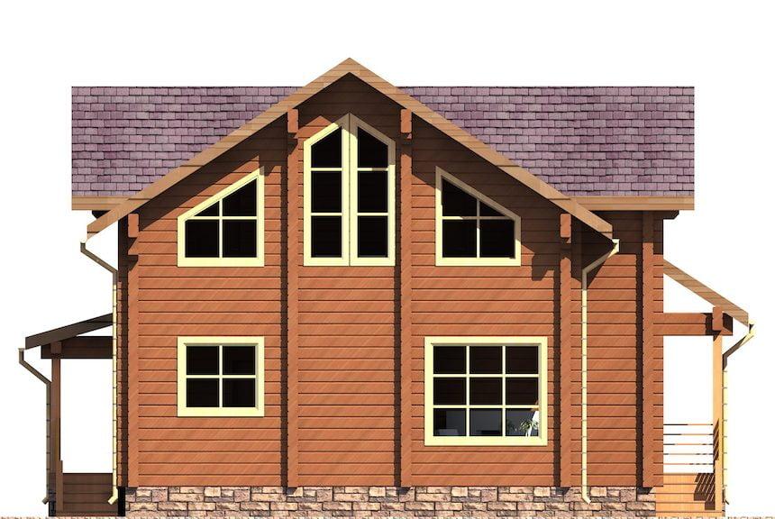 деревянные дома фото цена
