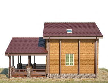 красивые деревянные дома