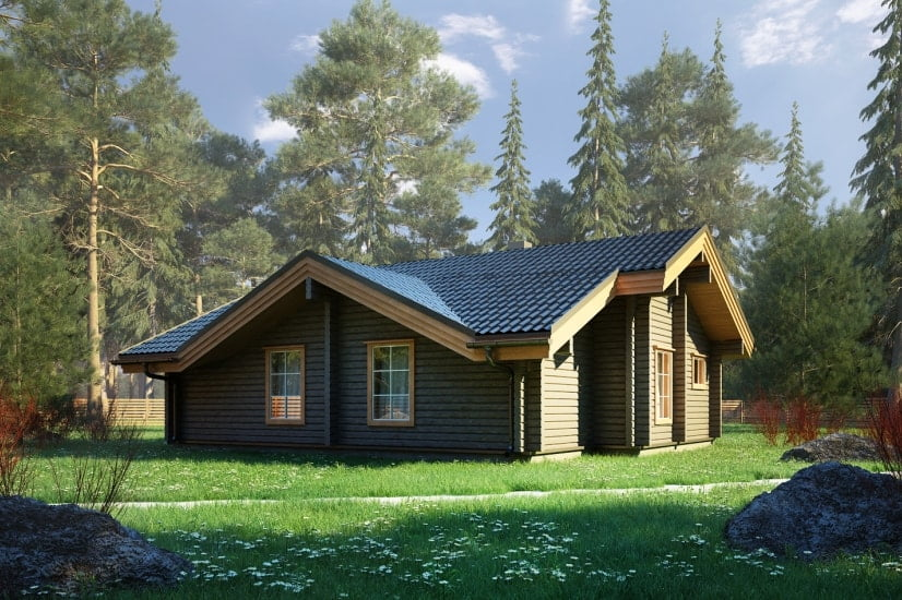 монтаж деревянных домов