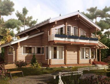 стили деревянных домов