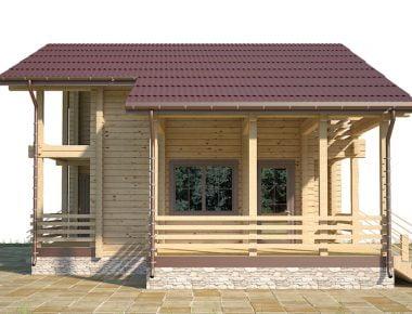 строительство дома из бруса под ключ цена