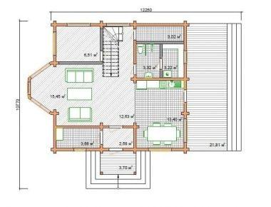 деревянные дома недорого под ключ