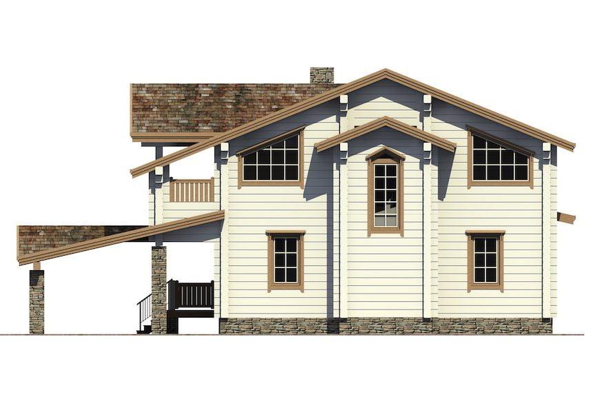 деревянные дома недорого цена