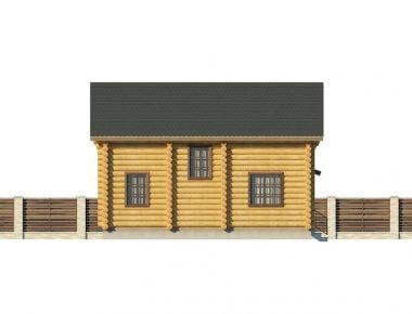 проекты домов из бревна для постоянного