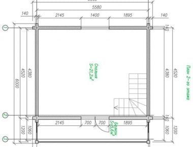 строительство дома бруса ключ